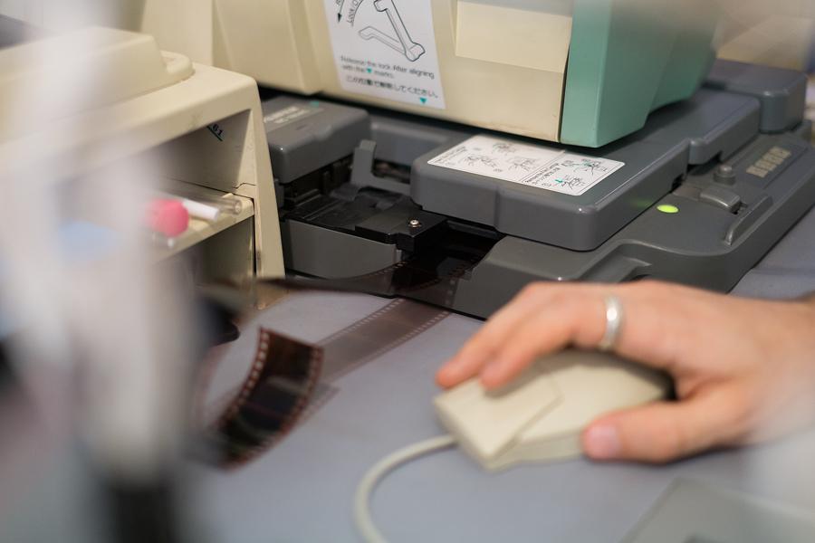 Fujifilm scanner scanning film