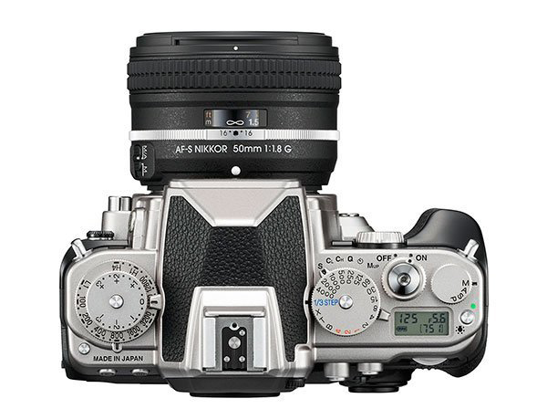 Nikon DF Silver Top - F Stop Lounge