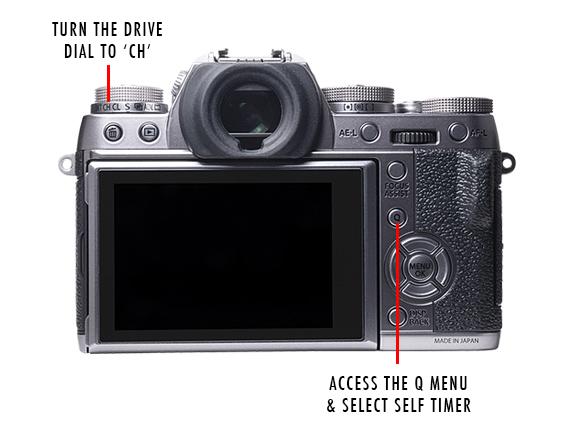Fujifilm XT1 Self Timer and CH