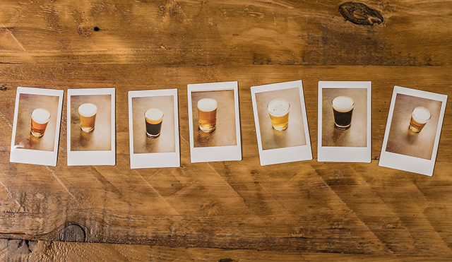 All the beers I had the great pleasure to sample shot and reassembled into a virtual flight.