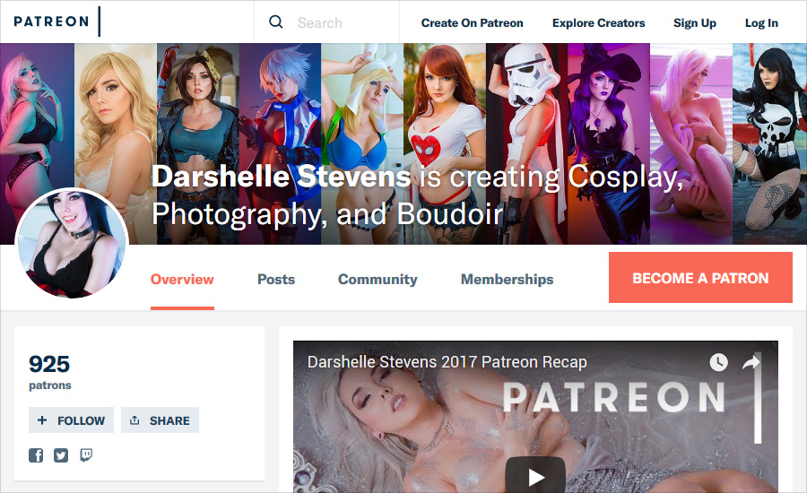 2019 Top Patreon Photography Creators & Earners in 2018 - F